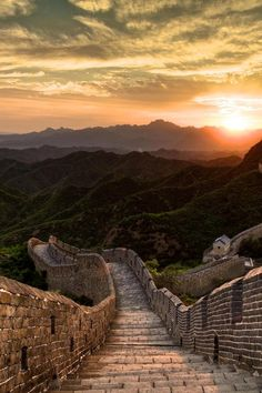 0rient-express:  Great Wall in China| byPhilipp Göllner| Website.