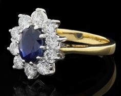 Sapphire and diamond engagement rings from Jewellers Ireland