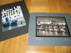 Black and white photos from places you've traveled together make a great gift.