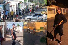 ¡HORAS DE CAOS! Vecinos de Ciudad Bolívar resguardaron sus casas con barricadas y armados