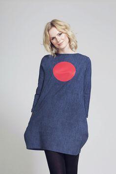 FNDLK úpletové šaty 63 BVqL_blue Fashion Labels, Blues, My Style