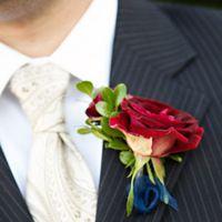 Leonidas rose buttonhole