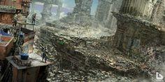 Afbeeldingsresultaat voor dystopian city