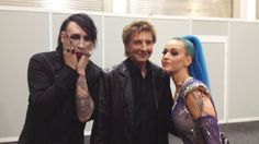 Marilyn Manson, Barry Manilow and Katty Perry at the Echo Awards