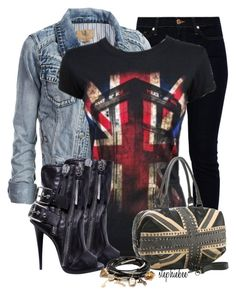 """""""London"""" by stephiebees ❤ liked on Polyvore"""