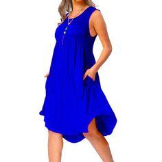 8658260ab0d New Fashion 2018 Summer Dress Women Over Sized 6XL Sleeveless Women Dress  Causal O-neck