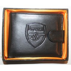 Shop Arsenal FC Club Embossed Crest Leather Wallet in a Gift Box BLACK at BalliGifts.com the # 1 Online Store for Cool Gifts. Free Shipping order $19.99+ USA Bike Gloves, Safety Gloves, Work Gloves, Boxing Gloves, Mechanic Gloves, Real Madrid Football Club, Arsenal Fc, Pin Badges, Cool Gifts