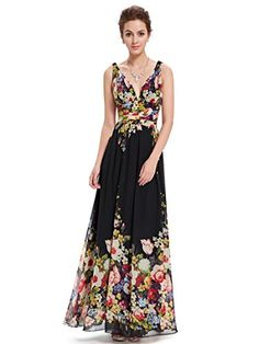 Ever-Pretty Long Bridesmaid Dresses Chiffon Formal Evening Party Dresses 09016 , Semi Formal Maxi Dresses, Floral Bridesmaid Dresses, Dresses Elegant, Sexy Summer Dresses, Best Prom Dresses, Dresses Short, Party Dresses, Formal Prom, Mini Dresses