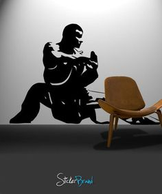 Vinyl Wall Decal Sticker Kung Fu Master Martial Arts #370 | Stickerbrand wall art decals, wall graphics and wall murals.