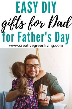 12 easy DIY gift ideas that you can make dad for father's day. Includes easy gifts and crafts kids can make for dad. #fathersday #fathersdaygiftideas Diy Gifts To Make, Easy Diy Gifts, Coffee Sleeve, Diy Crafts For Kids, Simple Crafts, Fathers Day Crafts, Create And Craft, Dollar Store Crafts, Christmas Gifts For Kids