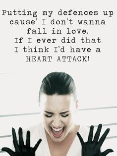 Heart attack- Demi lavato