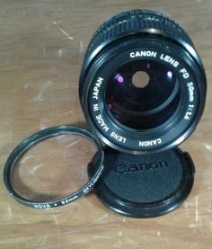 Canon FD 50mm f/1.4 S.S.C. SSC MF Lens w/Caps From JAPAN #2101 #Canon