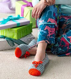 Crochet Ballet Slippers | Crocheting | Fashion Accessories — Country Woman Magazine