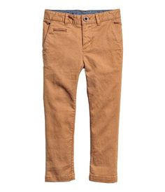 Skinny fit Chinos | Camel | SALE | H&M US