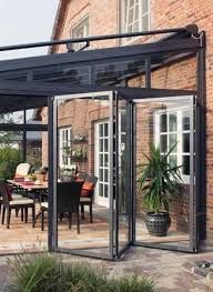 Outdoor Rooms, Outdoor Living, Outdoor Decor, Orangerie Extension, Pergola, Industrial Kitchen Design, House Extensions, Back Patio, Interior Design Living Room