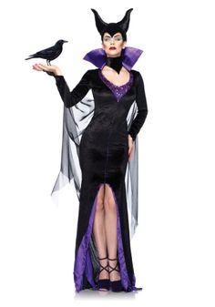 Plus Womens Disney Maleficent Costume