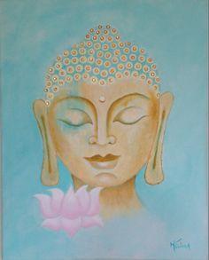 Buddha & Lotus 16