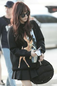 The biggest KPOP fashion store in the world -- kpopcity.net !! SNSD Tiffany @ Airport