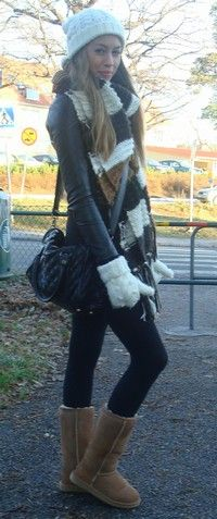 Wish I could wear stuff ilke this in winter but I would die for heat stroke. Florida winters :P
