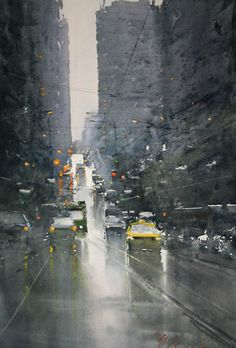 Joseph Zbukvic watercolor.