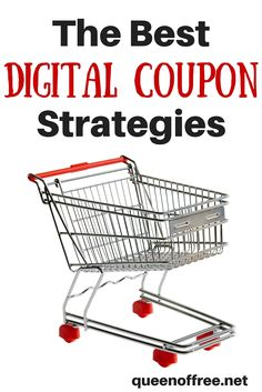 The Best Digital Coupon Programs explained with amazing ways to save money every time you shop!