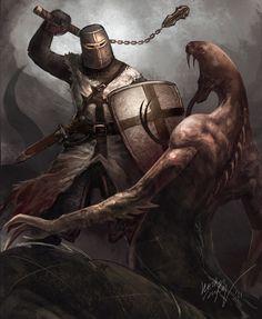 Teutonic Knight by Odinoir.deviantart.com on @deviantART