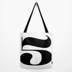 Buy Fiv (black) Tote Bag by werls. Worldwide shipping available at Society6.com. Just one of millions of high quality products available.