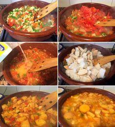 Estas sopas serranas o sopas de gato se preparan en Andalucía con muchas variedades parecidas a las de ajo pero con distintos ingredientes.