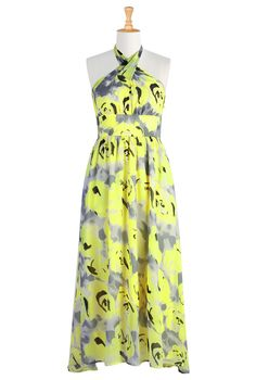 from eshakti: just ordered this for my cousin's wedding. sari in the AM: maxi dress at night? we shall see!