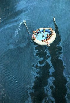 Group tubing in the mile of the ocean! I'M IN!!!