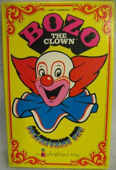 Bozo The Clown Colorforms Set Bozo The Clown, Creepy Clown, Vintage Clown, Vintage Toys, Clown Paintings, Clown Faces, Clowning Around, Send In The Clowns, My Kind Of Town
