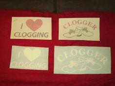 Clogging Window Decals