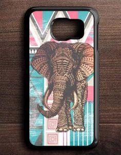 Aztec Elephant Art Samsung Galaxy S6 Edge Case
