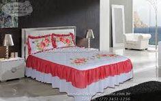 jogo de cama pintados em tecido