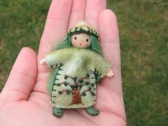 Miniature pixie doll | This little doll is bendable and has … | Flickr