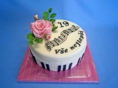 Hudební Cake, Desserts, Food, Tailgate Desserts, Deserts, Kuchen, Essen, Postres, Meals
