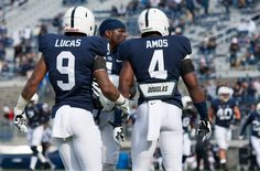 PENN STATE – FOOTBALL 2013 – The core of the Penn State secondary.