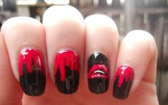 Rocky Horror Picture Show Nails