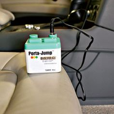 Portra-Jump is tiny, will jump start your car