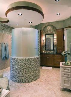 Fancy bathroom interior design