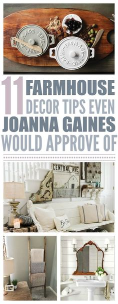 11 Farmhouse Style Tips Even Joanna Gaines Would Approve Of - That Vintage Life Farmhouse Interior, Farmhouse Style Decorating, Farmhouse Furniture, Farmhouse Chic, Farmhouse Ideas, French Farmhouse, Farmhouse Windows, Farmhouse Design, Vintage Farmhouse