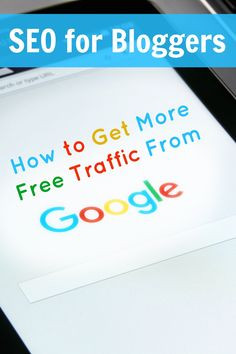 Some cool ideas on how to set each post up for success in Google. SEO for bloggers, how to get more free traffic from Google, via @sidehustlenation