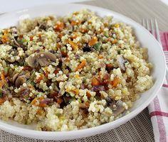 Quinoa amb verdures saltejades #thermomix