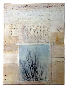 "a-new-dawn | ""A New Dawn"" handbound blank journal mixed medi… 