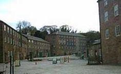 Industrial Revolution pioneer, Richard Arkwright's Cromford Mills, part of the Derwent Valley Mills World Heritage Site
