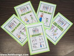 """This printable """"How to Solve Disagreements"""" Poster Set teaches children the steps to solve their problems without fighting physically."""
