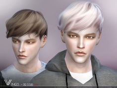 60 Best Male Sims 4 Hairhairstyles Images In 2019 Sims Hair Men