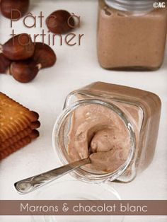 Pâte à tartiner aux marrons & chocolat blanc