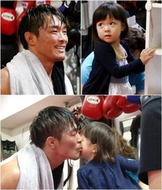 Choo Sarang visits Choo Sung Hoon at the ring in preview cuts for 'Superman is Back' | http://www.allkpop.com/article/2014/08/choo-sarang-visits-choo-sung-hoon-at-the-ring-in-preview-cuts-for-superman-is-back