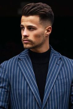 Slicked Back Hair And Beard #lowfadehaircut #lowfade #fade #fadehaircut A low fade is an awesome way to upgrade all mens and boys haircuts. Whether you're rocking long straight or short curly hair, in our exquisite collection of lowfade cuts for men, you'll find the style to match your taste, from a comb over with design and side part to a Faux hawk or mohawk with line and taper undercut #menshaircuts #menshairstyles Mens Hairstyles Fade, Undercut Hairstyles, Easy Hairstyles, Wedding Hairstyles, Hairstyle Men, School Hairstyles, Office Hairstyles, Anime Hairstyles, Stylish Hairstyles